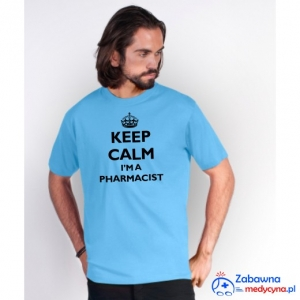T-shirt męski KEEP CALM I'M A PHARMACIST
