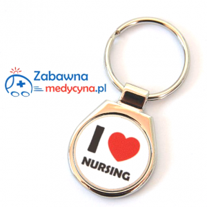 Brelok I LOVE NURSING