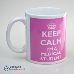 Kubek KEEP CALM I'M A MEDICAL STUDENT