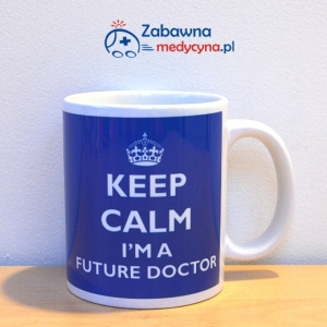 Kubek KEEP CALM I'M A FUTURE DOCTOR