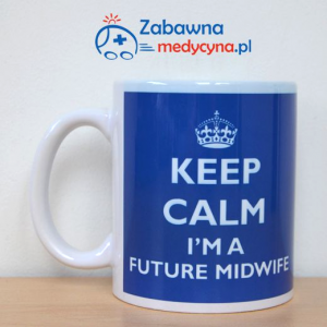 Kubek KEEP CALM I'M A FUTURE MIDWIFE