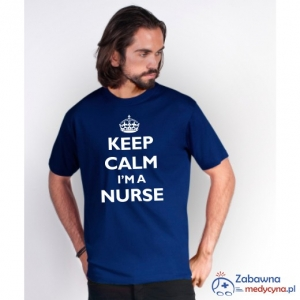 T-shirt męski KEEP CALM I'M A NURSE
