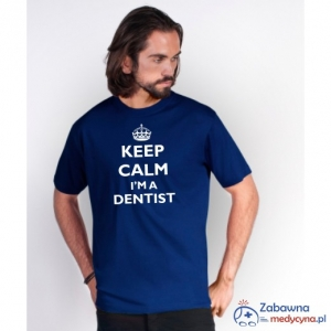 T-shirt męski KEEP CALM I'M A DENTIST
