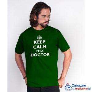 T-shirt męski KEEP CALM I'M A DOCTOR