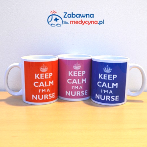 Kubek KEEP CALM I'M A NURSE