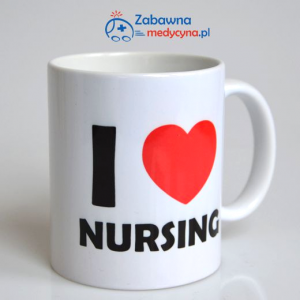 Kubek I love nursing