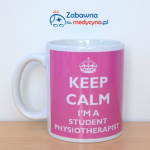 Kubek KEEP CALM I'M A STUDENT PHYSIOTHERAPIST