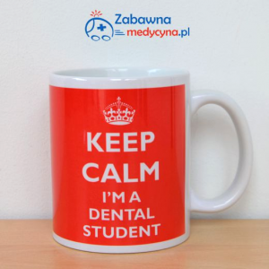 Kubek KEEP CALM I'M A DENTAL STUDENT
