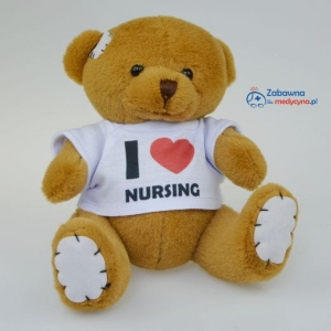 "Miś ""I Love Nursing"""