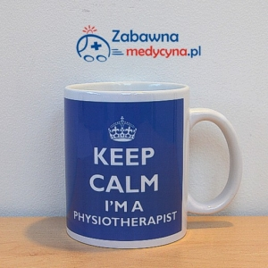 Kubek KEEP CALM I'M A PHYSIOTHERAPIST
