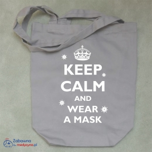 Torba KEEP CALM AND WEAR A MASK