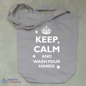 Torba KEEP CALM AND WASH YOUR HANDS