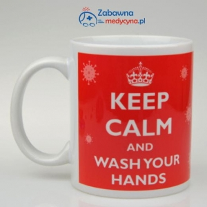 Kubek KEEP CALM AND WASH YOUR HANDS