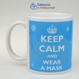 Kubek KEEP CALM AND WEAR A MASK
