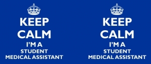 Kubek KEEP CALM I'M A STUDENT MEDICAL ASSISTANT