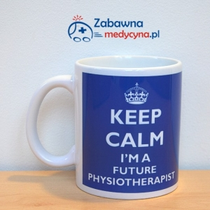 Kubek KEEP CALM I'M A FUTURE PHYSIOTHERAPIST