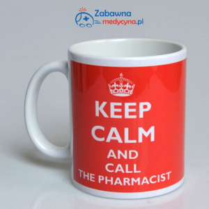 Kubek KEEP CALM AND CALL THE PHARMACIST