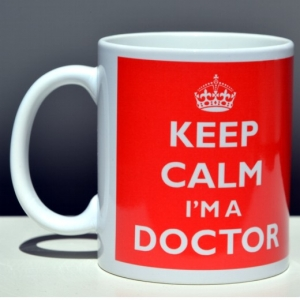 Kubek KEEP CALM I'M A DOCTOR