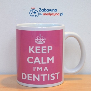 Kubek KEEP CALM I'M A DENTIST