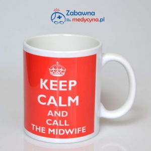 Kubek KEEP CALM AND CALL THE MIDWIFE