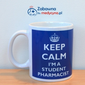 Kubek KEEP CALM I'M A STUDENT PHARMACIST