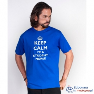 T-shirt męski KEEP CALM I'M A STUDENT NURSE